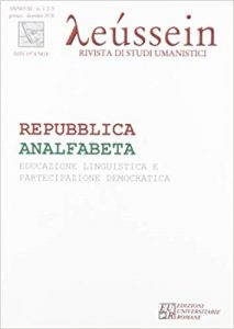 Copertina Repubblica analfabeta